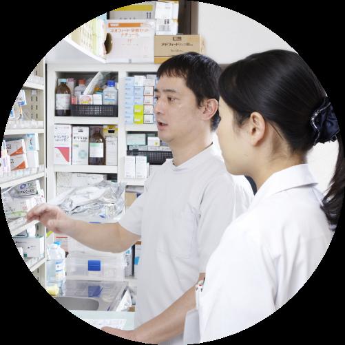 薬局での調剤業務・服薬指導